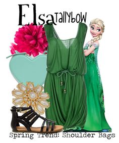 """Elsa"" by tallybow ❤ liked on Polyvore featuring Disney, Lipsy, Christopher Kane, STELLA McCARTNEY and Dorothy Perkins"