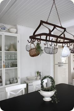 Shabby Chic - don't know how I feel about the baskets