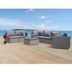 Vernus 7 Piece Seating Group with Cushion