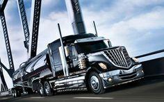 super tanker - rig, truck, tanker, trailor