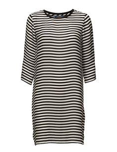 Klikk her for å se og kjøpe Polo Ralph Lauren Yael 3/4 Slv Casual Dress (143 White/black)  til 2599 kr. Ny kolleksjon fra Polo Ralph Lauren! Rask levering, enkel retur og sikker betaling.