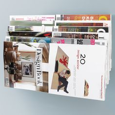 Illuzine Magazine Rack By Umbra®