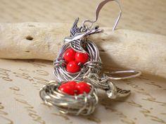 Crafty jewelry: No Tutorial, just very nice ideas!