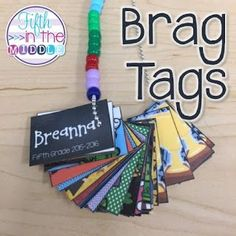 Brag tags are a great way to motivate and reward students for various accomplishments and holidays.
