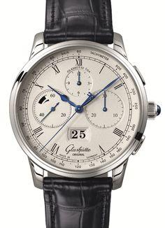 GLASHÜTTE ORIGINAL senator chronograph panorama date 11