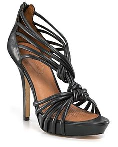 Strappy Black Sandal