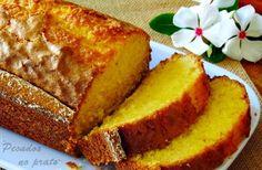 Receitas de pecados no prato: Bolo de iogurte com aroma de limão