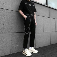 hipster outfits for rainy days Grunge Outfits, Hipster Outfits, Edgy Outfits, Korean Outfits, Grunge Fashion, Boy Fashion, Cool Outfits, Fashion Outfits, Fashion Ideas