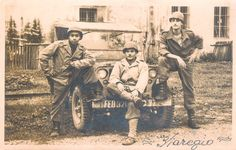 "Today, makes 70 years that soldiers of the Expeditionary Force of the Brazil (FEB) came into the fight against the Germans and conquered the place named Monte Castelo, here I honor these people with this photo of three Brazilian soldiers in their jeep called ""Sonia"", and so I would like to thank all who have sacrificed for our freedom"