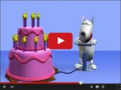 A funny cartoon birthday animation! If it is your birthday then watch this video. Recommended for people. Free online Happy Birthday ecards on Birthday Funny Happy Birthday Wishes, Happy Birthday Video, Birthday Songs, Birthday Greetings, It's Your Birthday, Birthday Celebration, Funny Birthday, Birthday Cake, Funny Wishes