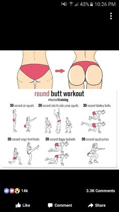 21 ideas for fitness workouts booties curves Fitness Workouts, Summer Body Workouts, Gym Workout Tips, Fitness Workout For Women, At Home Workout Plan, Workout Challenge, At Home Workouts, Butt Workouts, Month Workout