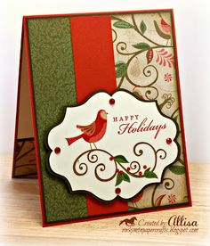 Rocky Mountain Paper Crafts: Merry Monday #40 #PearAndPartridge