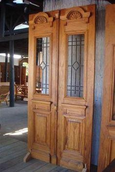 porta de demolição em perobinha do campo 2 folhas  Galpão Demolições 4.500,00