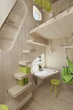 Student Flat by Tengbom Architects