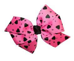 Webb Direct 2U Girls Large Bright Pink Heart GrosGrain Hair Bow French Clip (5115) * Read more reviews of the product by visiting the link on the image.