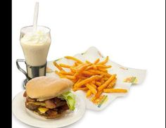 Michael F. Jacobson: The Most 'Xtreme' Meals in America - 1770 calories in this Johnny Rocket's Bacon Double Cheeseburger alone. Fries are another 590 cals!  Damn!