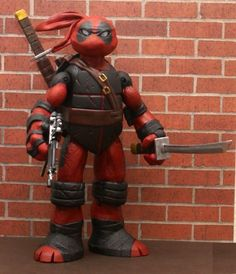 Teenage Mutant Ninja Turtle Deadpool Custom Action Figure!