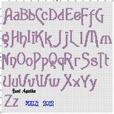 Alfabeto Agatha