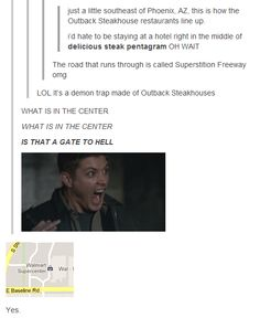 For the Supernatural fans.