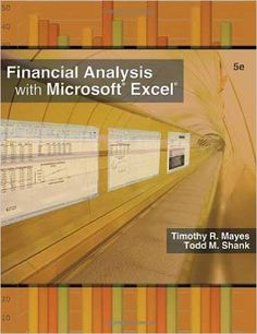 financial analysis with microsoft excel 6th edition solution manual pdf