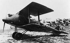 LFG Roland CV experimental German two seat fighter scout biplane.