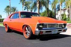 1972 Chevrolet Nova 850HP Pro Touring, 6.0L LSX procharger V8
