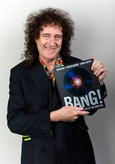 Brian May Pictures - Brian May Portrait Session And Book Signing At Book Soup - Zimbio