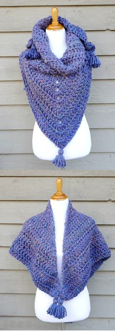 Crochet the Snow Berries Blanket Shawl – Crafting Time
