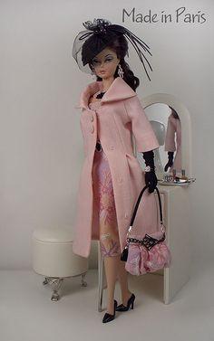 """Floral DORA"" Fashion for Silkstone Barbie Barbie Dress, Barbie Clothes, Barbie Outfits, Glamour, Manequin, Black Barbie, Pink Barbie, Beanie Babies, Vintage Barbie Dolls"