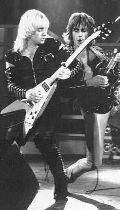 Judas Priest- K.K. Downing, and Glen Tipton!