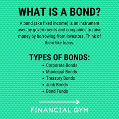 One question we have been asked frequently in light of the pandemic and the residual economic crisis is whether we recommend investing in bonds. Bonds are typically described as less volatile than a traditional stock investment, which make them a more stable choice and can play a key role in your investment strategy.