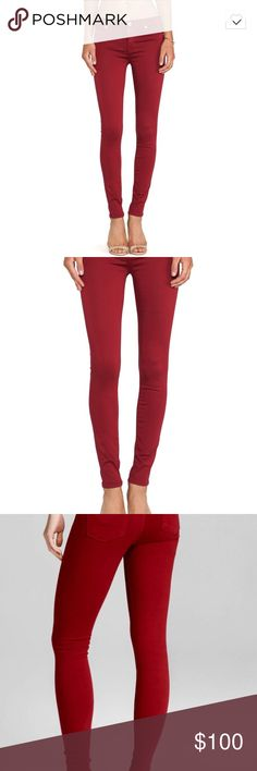 Hudson Nico Midrise Skinny Jeans in Cinnabar worn twice and in perfect condition. flattering fit and true to size. see photos for details. model measurements in the photo description refer to the model in the first two pictures, not the third. open to reasonable offers. Hudson Jeans Jeans Skinny