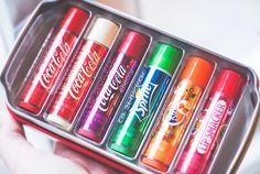 Image via We Heart It https://weheartit.com/entry/154616135 #come #flavors #lipbalm