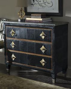Schnadig Corporation - Cowhide Chest - Horchow