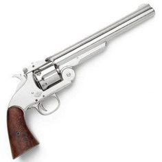 I found 'M1869 Schofield Revolver with Nickel Finish Frame - Replica of Classic Old West Pistol Used by U.S. Cavalry, Wells Fargo Agents, and Frank James - Nice Prop Gun' on Wish, check it out!