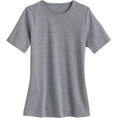 Women's Longtail T Short Sleeve Crew Neck Shirt