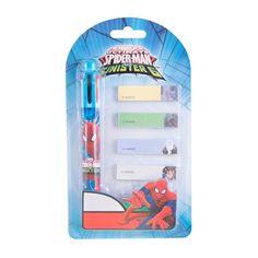 Pix 6 culori + memo stick Spiderman - SM3916 Spiderman, Phone, Disney, Character, Spider Man, Telephone, Mobile Phones, Disney Art, Amazing Spiderman