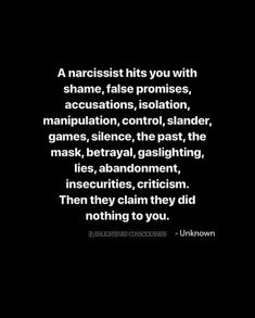 Narcissistic People, Narcissistic Behavior, Narcissistic Abuse Recovery, Narcissistic Sociopath, Narcissistic Personality Disorder, Wisdom Quotes, True Quotes, Great Quotes, Words Quotes