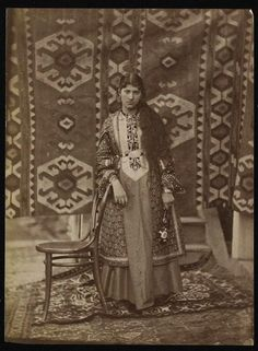 Portrait of an Armenian lady from the old Yerevan