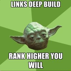 Deep links to inner webpages increases search engine rankings