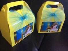 Disney Princess Belle Birthday favor Box by FantastikCreations