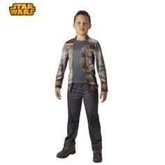 Déguisement Finn Stormtrooper - Star Wars® #déguisementsenfants #costumespetitsenfants #nouveauté2015 #StarWars #TheForceAwakens