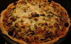 Pizza com Legumes