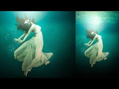 Photoshop Tutorial | How to Under Water girl Photo Manipulation