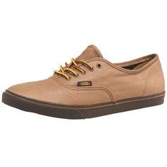 Vans  Authentic Lo Pro Leather Brown