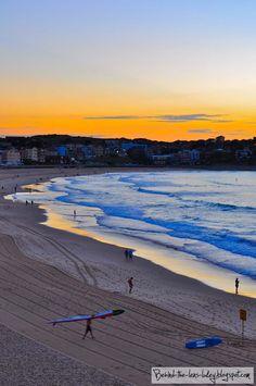 Sunrise, Bondi Beach, New South Wales, Australia.