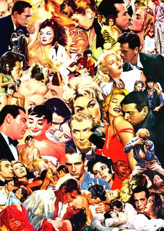 Classic Movies Collage