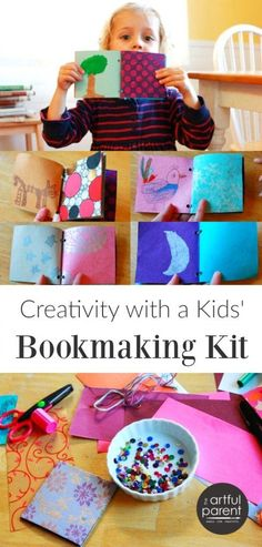 Making handmade books with kids