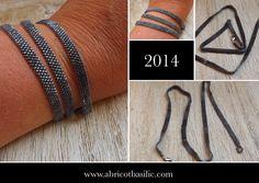 Pour ceux qui seraient passés à coté une nouveauté le multi-rangs à décliner dans vos coloris préférés. www.abricotbasilic.com