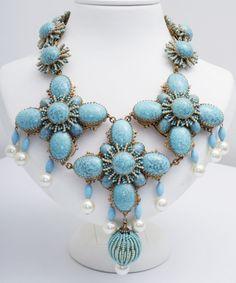 vintage Stanley Hagler necklace - the bigger the better!!